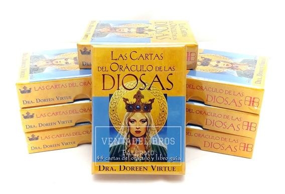Cartas Del Oraculo De Las Diosas Doreen Virtue Cerradas Gaia