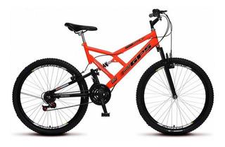 Bicicleta Colli Full Suspension Aro 26 Freio V-break 21 Velo
