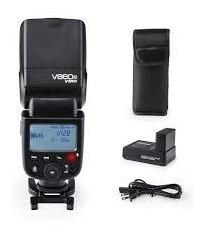 Flash Godox V860 Ii Ttl Com Bateria E Carregador Para Nikon