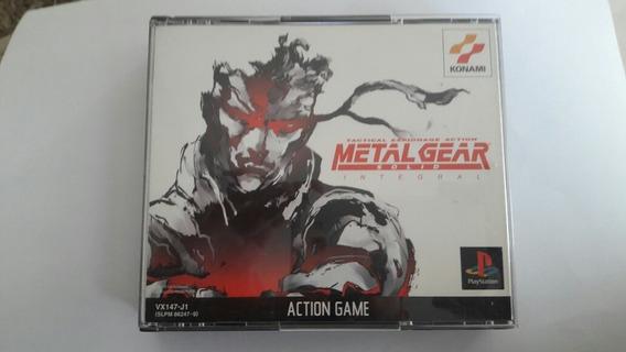Jogo Metal Gear Solid Integral 3 Cds Originais Novos