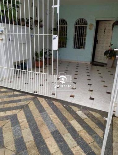 Imagem 1 de 2 de Sobrado Com 2 Dormitórios À Venda, 166 M² Por R$ 549.000,00 - Jardim - Santo André/sp - So3529