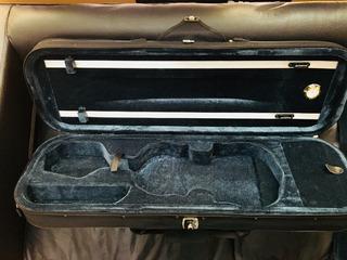 Stradella Estuche Violin 4/4 Rectangular Con Higrometro