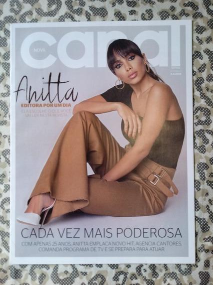 Anitta Revista Canal Extra 2018