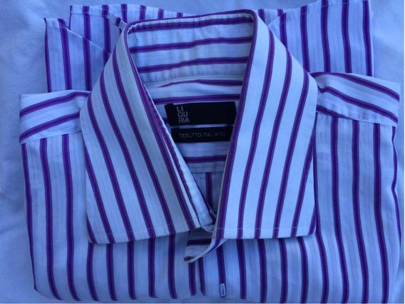 Camisa Hombre Italiano Ligaría Igual A Nuevo