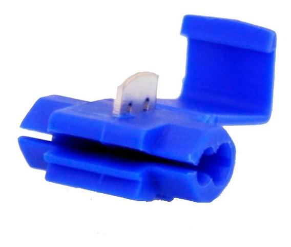 Conector De Derivação Azul Emenda Cabos Fios 50 Un