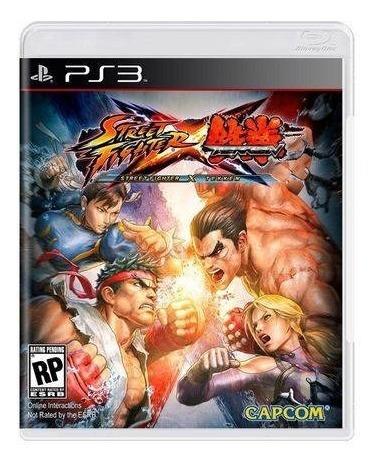 Street Fighter Vs Tekken Ps3 Original Seminovo