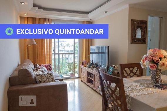 Apartamento No 9º Andar Com 2 Dormitórios E 1 Garagem - Id: 892991641 - 291641