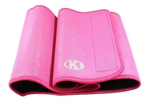 K6 Faja De Neopreno Kosmo 8  Para Dama Color Rosado Shaper