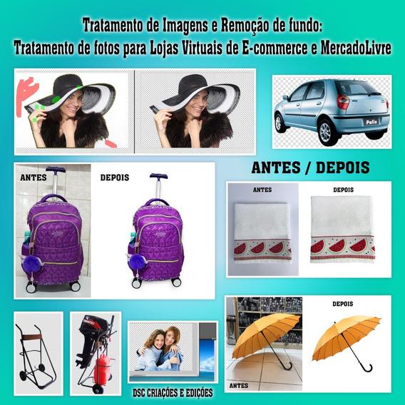 Promoção Tratamento 1 Foto Edição Imagem Limpeza Troca Fundo