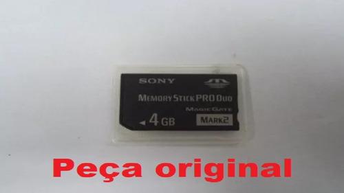 Cartão Memória Camera Digital Sony Pro Duo 4gb