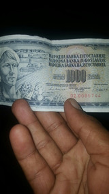 En Venda Moneda Yugoslaba 25000
