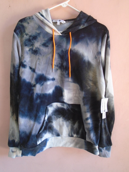 Sweater Decolorado En Grises, Talla M, Nueva Con Etiquetas