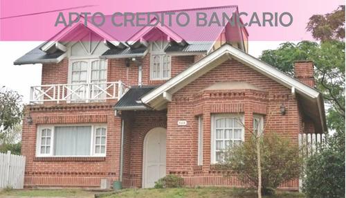 Imagen 1 de 26 de  Casa En Venta 4 Ambientes Apta Para Crédito Hipotecario