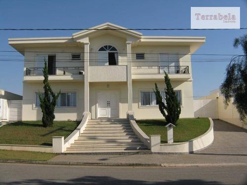 Casa Com 5 Dormitórios À Venda, 518 M² Por R$ 3.500.000,00 - Condomínio Jardim Paulista Ii - Vinhedo/sp - Ca0228