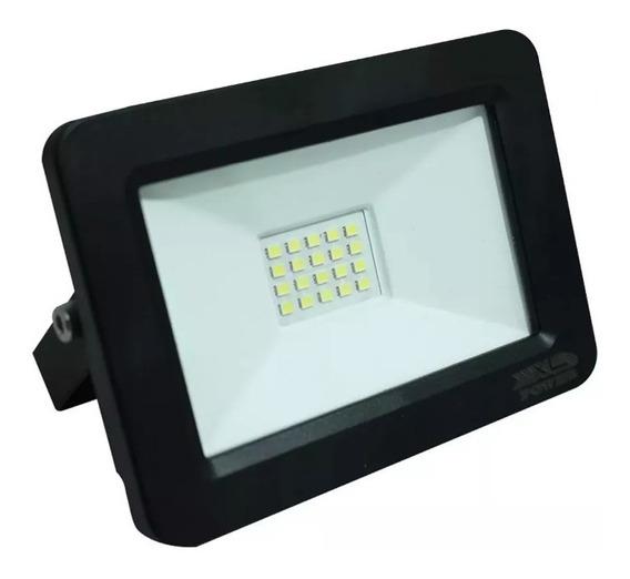 Refletor Holofote Micro Led Smd 50w Branco Frio Bivolt 6000k