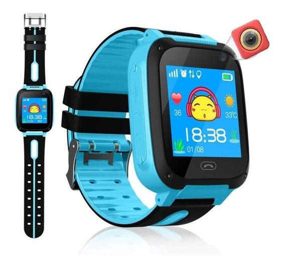 Relógio Infantil Com Gps Localizador