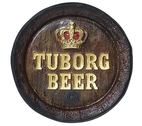 Barril De Parede - Decoração - Tuborg Cerveja