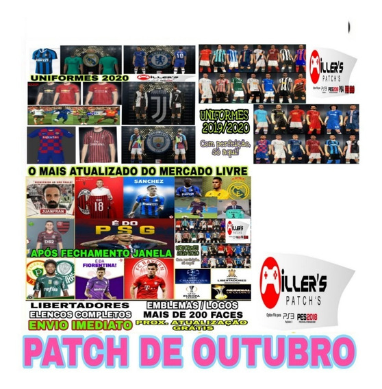 Patch Pes 19 Ps4   Atualização De Agosto Envio Automatico