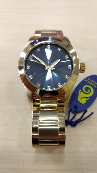 Relógio Atlantis Feminino Luxo Original - Lançamento 3352