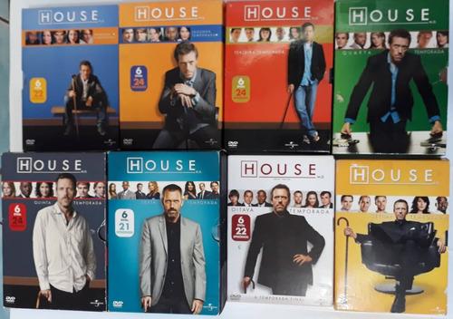 Dvd House 1 A 8 Temporadas Completas Originais -frete Gratis