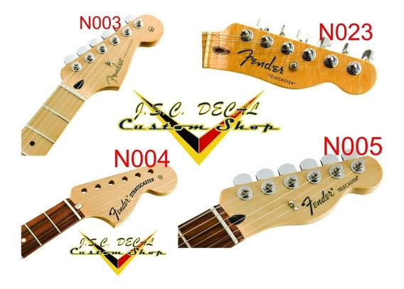 Adesivo Fender Waterslide P/ Guitarra Frete 8,50