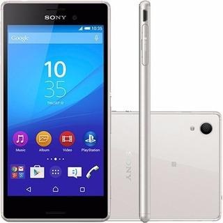 Smartphone Sony Xperia M4 Aqua Dual E2363 Silver Seminovo
