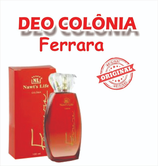 Colonia Ferrara Original Da Nawts Life ( Acompanha Brinde)
