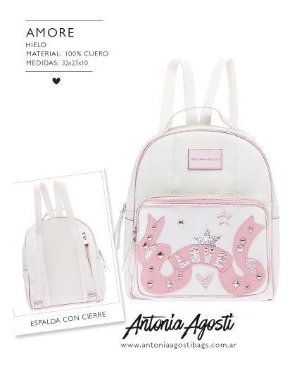 Mochila Amore - Antonia Agosti- Son Guapas