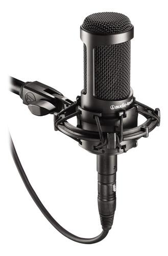 Imagen 1 de 3 de Micrófono Audio-Technica AT2035 condensador  cardioide negro
