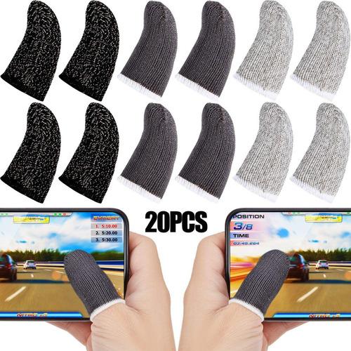 Finger Sleeve Touchscreen 20 Unidades