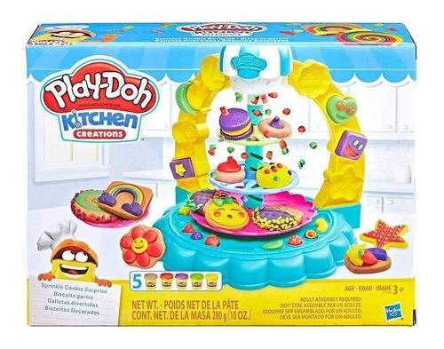 Play Doh Kitchen Galletas Divertidas Giro Didactico = Envios