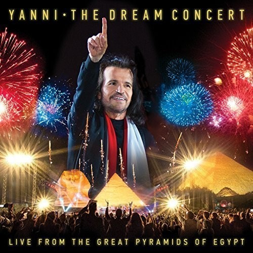 Yanni The Dream Concert Live From Pyramids Cd Us Imp