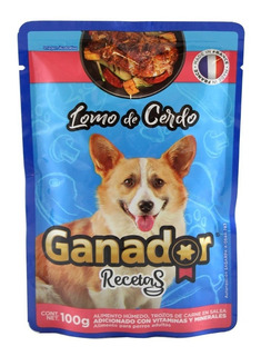 Alimento Ganador Recetas Lomo De Cerdo 100gr