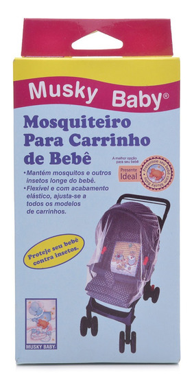 Mosquiteiro Para Carrinho De Bebê Musky Baby