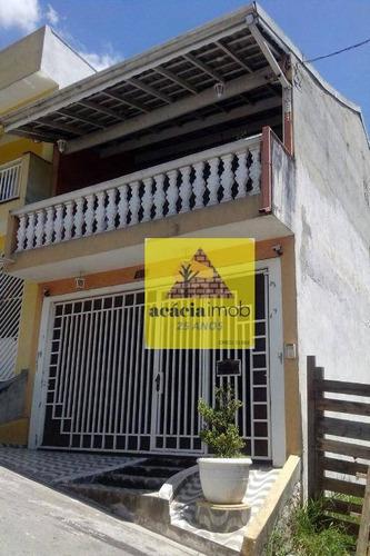 Imagem 1 de 30 de Sobrado Com 2 Dormitórios À Venda, 125 M² Por R$ 530.000,00 - Jardim Ninho Verde Ii - São Paulo/sp - So2005
