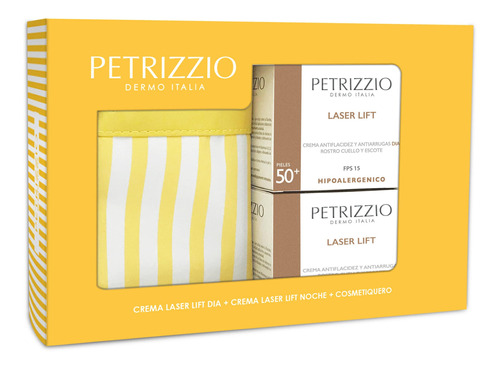 Cosmetiquero Petrizzio + Tratamiento Laser Lift