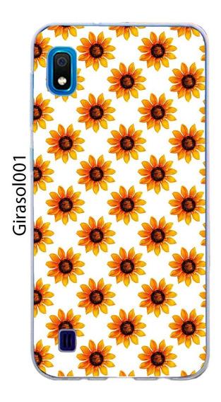 Funda Samsung Galaxy A10 A20 A30 Flor Girasoles Sunflower