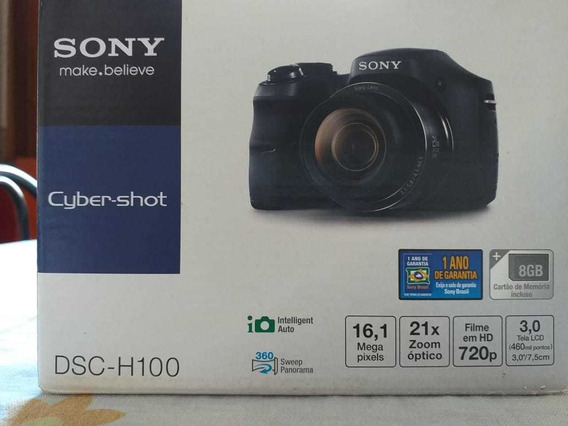 Câmera Digital Sony Dsc H100