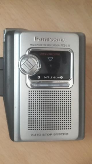 Walkman Gravador Panasonic Rq-l11 /motor Esta Lento/p Peças