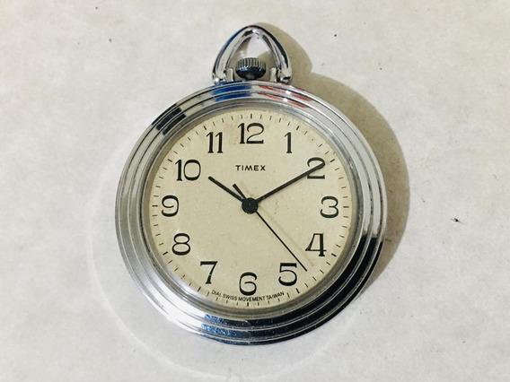 Reloj De Bolsillo Marca Timex