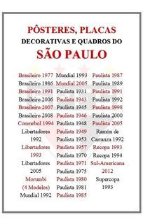 03 Pôsteres Do São Paulo