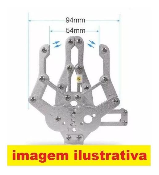 Garra Metalica Robot Sem Servo _ Pra Arduino Nodemcu Esp32