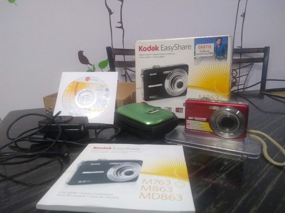 Câmera Kodak M863 Hd Easyshare 8.2 Mp