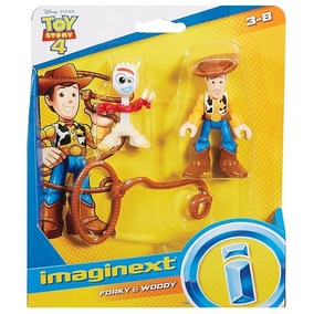 Imaginext Disney Pixar Toy Story 4 Woody E Garfinho Mattel