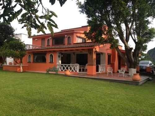 Preciosa Casa En Condominio Exclusivo De Tepoztlán