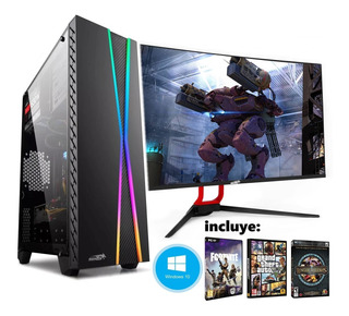 Pc Armada Gamer Amd Ryzen 5 2400 1tb 8gb Radeon Juego Regalo