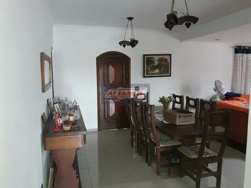 Sobrado Residencial À Venda, Jardim Pinhal, Guarulhos - So0012. - Ai26