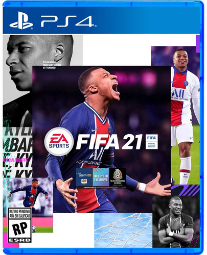 Fifa 21 Ps4 Fisico Sellado Original Preventa Real Ade Ramos