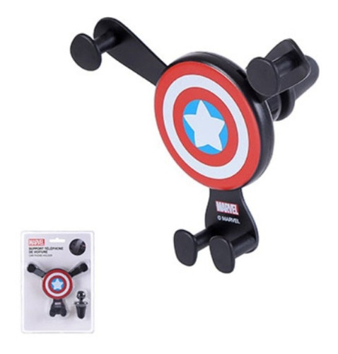 Suporte De Celular Para Carro Capitão América Marvel Miniso