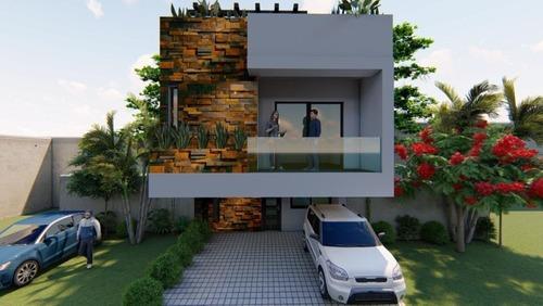 Casa Nueva 3 Recamaras 3.5 Baños En Playa Del Carmen